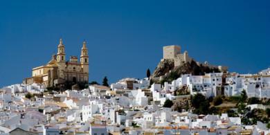Die Weißen Dörfer Andalusiens per Fahrrad